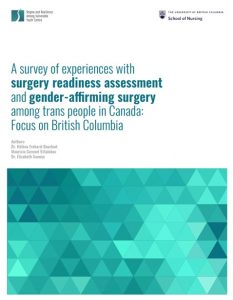 A survey of experiences with surgery readiness assessment and gender-affirming surgery among trans people in Canada: Focus on British Columbia