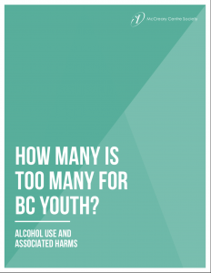 How many is too many for BC youth? Alcohol use and associated harms