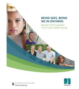 Being Safe, Being Me in Ontario: Results of the Canadian Trans Youth Health Survey