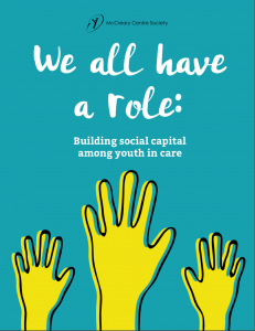 We all have a role: Building social capital among youth in care