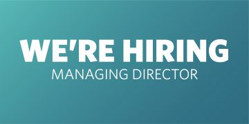 We're looking for our next Managing Director